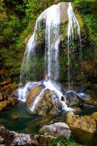 Salto de Arco Iris Waterfall
